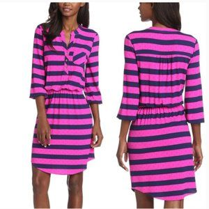Lilly Pulitzer Beckett Striped Dress in Mambo Pink